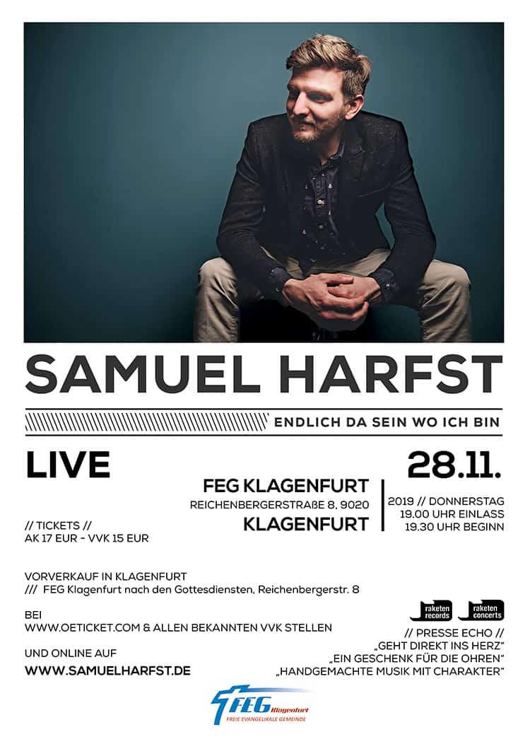 Samuel Harfst Konzert